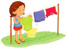 clothes line Menage Monster Theme Classroom, Classroom Themes, Oral Motor Activities, The Joys Of Motherhood, Flashcards For Kids, School Clipart, Cartoon Pics, Kids Education, Preschool Activities