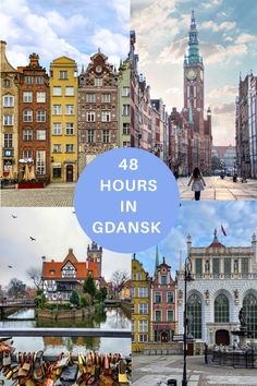 My travel guide to spending 48 hours in Gdańsk. Europe Travel Tips, European Travel, Travel Guide, Honeymoon Destinations, Amazing Destinations, Freedom Travel, Poland Travel, Reisen In Europa, Winter Travel