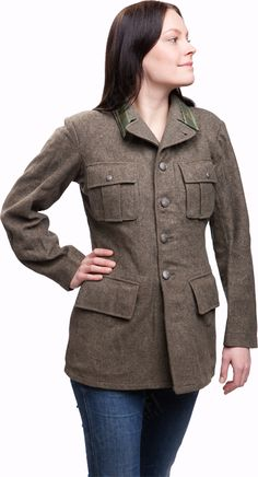 Apparently the Swedish army was very fond of its wool tunic, and made these well to the 50's. Nowadays the market for these seems to be waning, and these are likely the last ones we'll ever have.