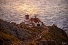 Point Reyes Lighthouse by Venkat Vidyasagar, via 500px