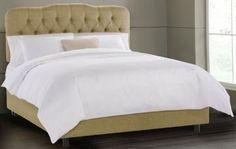 Custom Isabella Upholstered Bed - Beds - Bedroom - Furniture   HomeDecorators.com