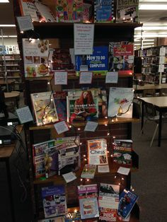 December Non Fic Display