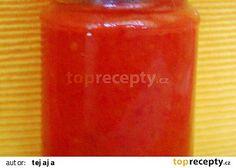 Rajčatovo-papriková pomazánka recept - TopRecepty.cz Russian Recipes, 20 Min, Preserves, Salsa, Food And Drink, Jar, Canning, Drinks, Polish