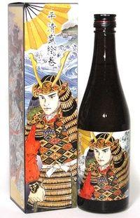 清酒 櫻正宗「平清盛絵巻」本醸造 Exciting sake packaging PD