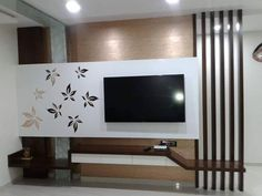 Modern TV wall units for living rooms - Wooden TV cabinets designs 2020 Lcd Unit Design, Lcd Wall Design, Modern Tv Unit Designs, Tv Unit Interior Design, Tv Unit Furniture Design, Wall Unit Designs, Modern Tv Wall Units, Living Room Tv Unit Designs, Bedroom Tv Unit Design