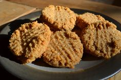 I've been searching for a recipe that uses leftover coconut pulp from making homemade coconut milk, I can't wait to make these! Grain-free Peanut Butter Macaroons...they look yummy!