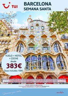 ¡Nuestra selección SMART a Barcelona! Semana Santa. Vuelo+Hotel+Coche. Precio final desde 383€ ultimo minuto - http://zocotours.com/nuestra-seleccion-smart-a-barcelona-semana-santa-vuelohotelcoche-precio-final-desde-383e-ultimo-minuto/