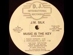 Silk Music Is The Key (Radio Version) DJ International DJ 888 Written by Steve Hurley Produced by J. Silk and Rocky Jones Lead Vocals - Keith Nunnally. Detroit Techno, Chicago House, Memphis May Fire, Old School House, Piano Music, Music Music, House Keys, Chris Tomlin, Mikey Way