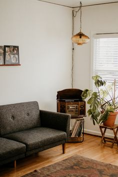 How I Decorated My Living Room on a Budget!