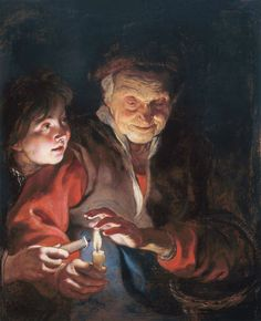 Peter Paul Rubens Poster - Night Scene