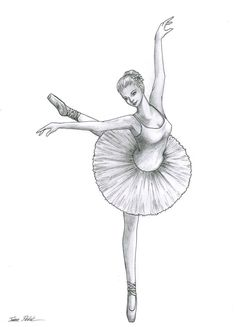 how to draw ballerinas | Drawing Of Ballerina