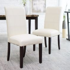 Avorio Ivory Dining Chair - Set of 2