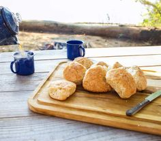 camping buttermilk biscuits