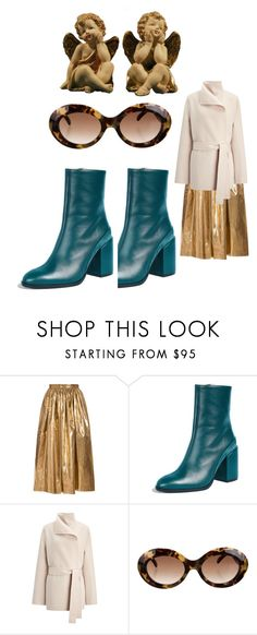 """""""95"""" by myswag1617 ❤ liked on Polyvore featuring MSGM, Dear Frances, Joseph and Illesteva"""