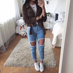 Read 2 from the story Wattpad için kıyafet kombinleri 2 by with reads. Outfits For Teens, Stylish Outfits, Casual Guy Outfits, Swaggy Outfits, Spring Outfits, Winter Outfits, Teen Fashion, Fashion Outfits, Vetement Fashion
