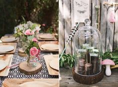 Girl's camping birthday by Pippa and Co. | Megan Small Photography | 100 Layer Cakelet