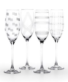 Another great find on Expressions Crystal Flute Set by Mikasa Whimsical Fashion, Champagne Glasses, Mikasa, Drinkware, Barware, Dinnerware, Wine Glass, Kitchen Items, Kitchen Stuff