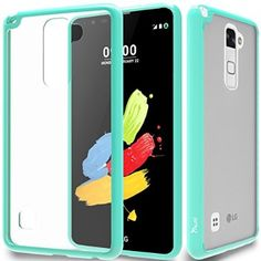 lg stylo 2 cases. lg stylo 2/stylus 2 plus clear case with hd screen protector, anoke scratch resistant colorful mandala flower dream catcher slim hard cove\u2026 lg cases