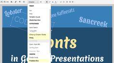 450 + новые способы, чтобы сделать вашу презентацию Google поп | Блог Docs