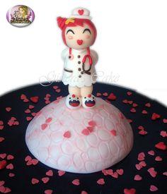 Cake Love (inspiration Momiji Doll) Momiji Doll, Christmas Bulbs, Cakes, Holiday Decor, Inspiration, Pies, Weddings, Biblical Inspiration, Christmas Light Bulbs