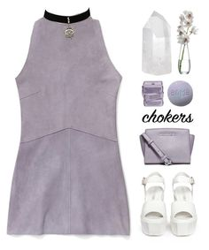 """""""If you comment on my sets..."""" by alexis-belaruano ❤ liked on Polyvore featuring Rebecca Minkoff, Opening Ceremony, MICHAEL Michael Kors, LSA International, Mapleton Drive, 90s and blackchokers"""