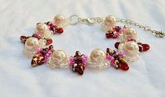 Hey, I found this really awesome Etsy listing at https://www.etsy.com/listing/200439926/glass-pearl-bead-woven-bracelet-bride