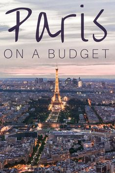 How to do Paris on a Budget: Ideas, Tips & Practical Advice for saving money while in the French capital of Paris, France. How to save money eating, visiting attractions, and some advice for free activities!