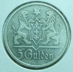 5 гульденов 1923 5 марок гдр