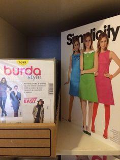 Patrons Burda, Simplicity disponible chez Eurotissus Republique et bientôt sûr www.eurotissus.com