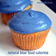Natural Blue Food Coloring For Frosting