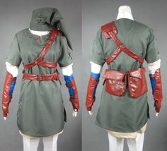 The-Legend-of-Zelda-Twilight-Princess-Sprites-Cosplay-Costume-link-Outfit.jpg (1000×907)