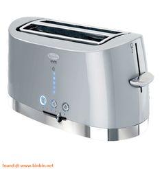 Breville Opula VTT450 4 Slice Toaster Blue Blue