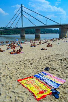 The beaches along the Danube - Novi Sad, Serbia