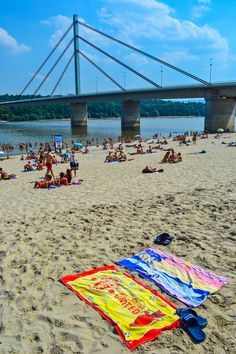 The beaches along the Danube - Novi Sad, Serbia