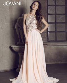 Halter chiffon gown 92605 - Prom Dresses