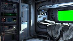 spaceship futuristic bedroom interior screen background scifi space ship station sci fi bed rooms ships wars star wall cozy beds