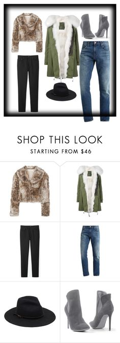 """col"" by elvinelviseloy on Polyvore featuring moda, STELLA McCARTNEY, Mr & Mrs Italy, Uniqlo y Venus"