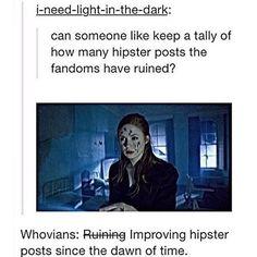 hipster posts man...