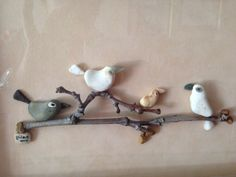 Pebble art birds gülen                                                       …
