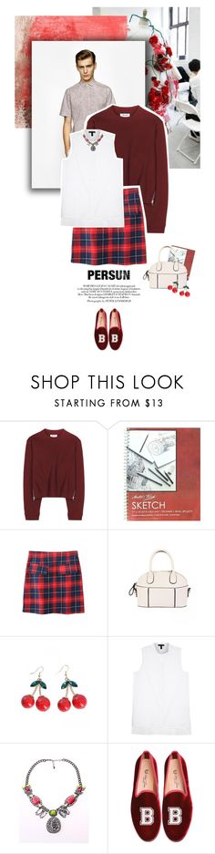 """""""Persun #5"""" by juhh ❤ liked on Polyvore featuring Thom Browne, COS, Acne Studios, Eileen Fisher, Del Toro, fashionset, persunmall, persun and Juliajulian"""