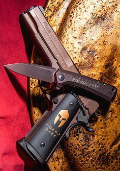 Zero Tolerance Knives ZT 0808ML Rexford KVT Molon Labe EDC Custom Folding Pocket Knife Blade