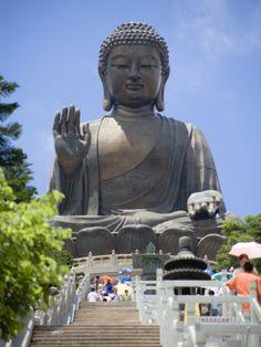 Tian Tan Buddha, Lantau Island - Hong Kong