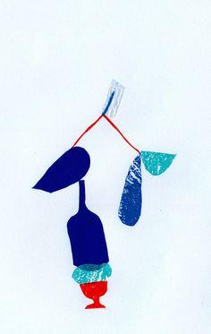 PLASTIC COLLAGE by Naomi Kolsteren, via Flickr