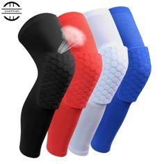 2016 Basketball knee pads Adult kneepad Football knee brace support Leg Sleeve knee Protector Calf compression knee Sport Safety * Encontrar productos similares haciendo clic en la VISITA botón