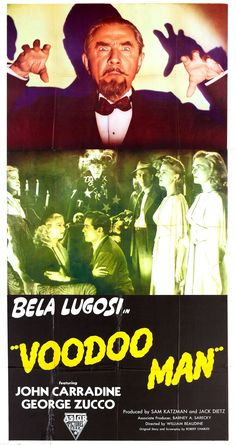 Bela Lugosi - Voodoo Man (1944). Look for a new interview with Lugosi co-star Louise Currie in the documentary Lugosi: The Forgotten King. For more information visit Operator13Productions.com