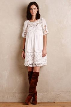 Vincennes Swing Dress by Holding Horses Swing Dress, Dress Skirt, Lace Dress, Dress Up, White Dress, Dress Outfits, Casual Dresses, Fashion Outfits, Womens Fashion