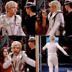 Hahaha XD I love this scene and how Ally scares the Crap out of him