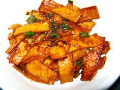 Korean Side Dishes, Korean Cucumber Side Dish, Side Dishes For Bbq, Side Dish Recipes, Korean Fish Cake Side Dish Recipe, Main Dishes, Easy Chinese Recipes, Asian Recipes, Asian Foods
