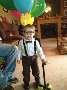 My Life as Momma Halloween UP Costume-- Carl & How to Make a Russell Costume from the Movie UP | Pinterest ...