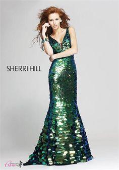 #SherriHill 2821 green prom dress emerald green prom dress #promdress #FormalApproach #prom